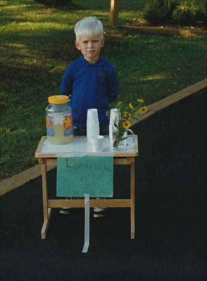 Fred Lundin Lemonade Stand